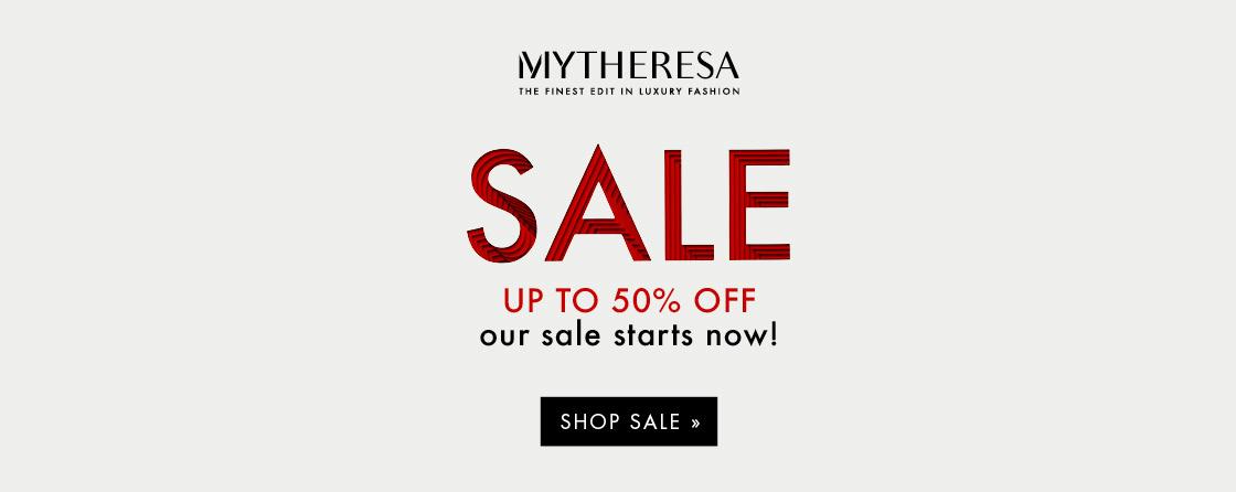 MyTheresa Sale Banner
