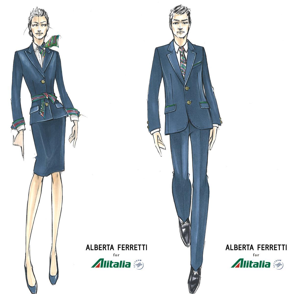 alberta-ferretti-alitalia-sketches