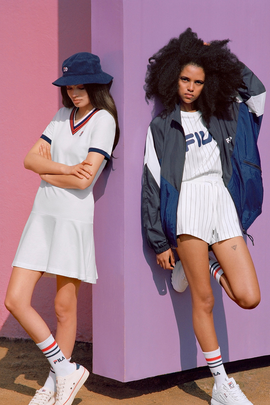 Another look from Fila's 2018 Lookbook