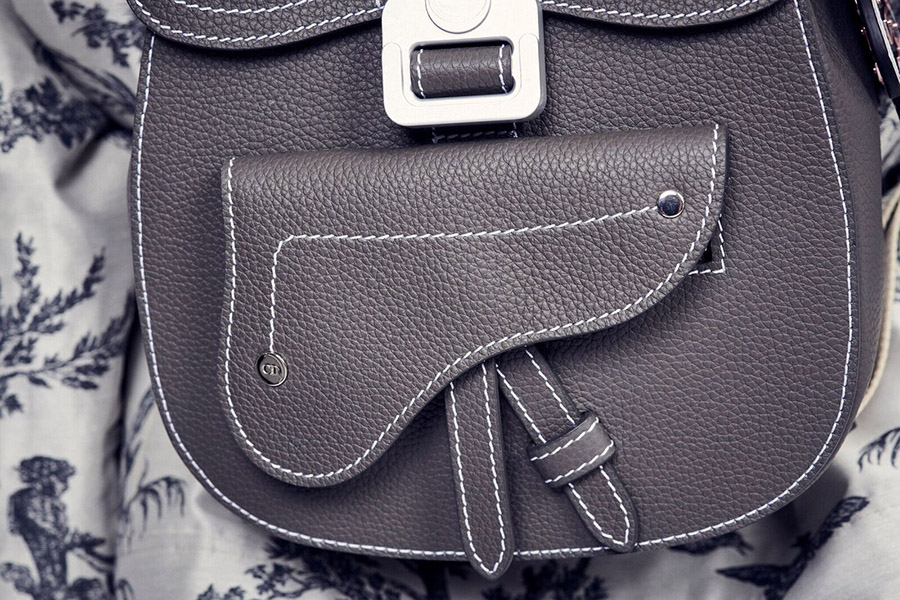 Kim Jones Reinvents Dior Saddle Bag