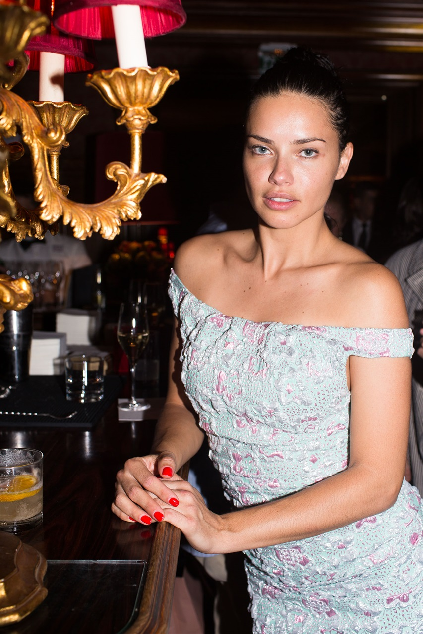 Adriana Lima at Miu Miu Club 2019 in Paris