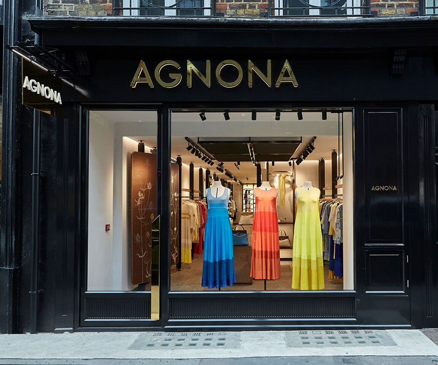 Agnona London Store Front