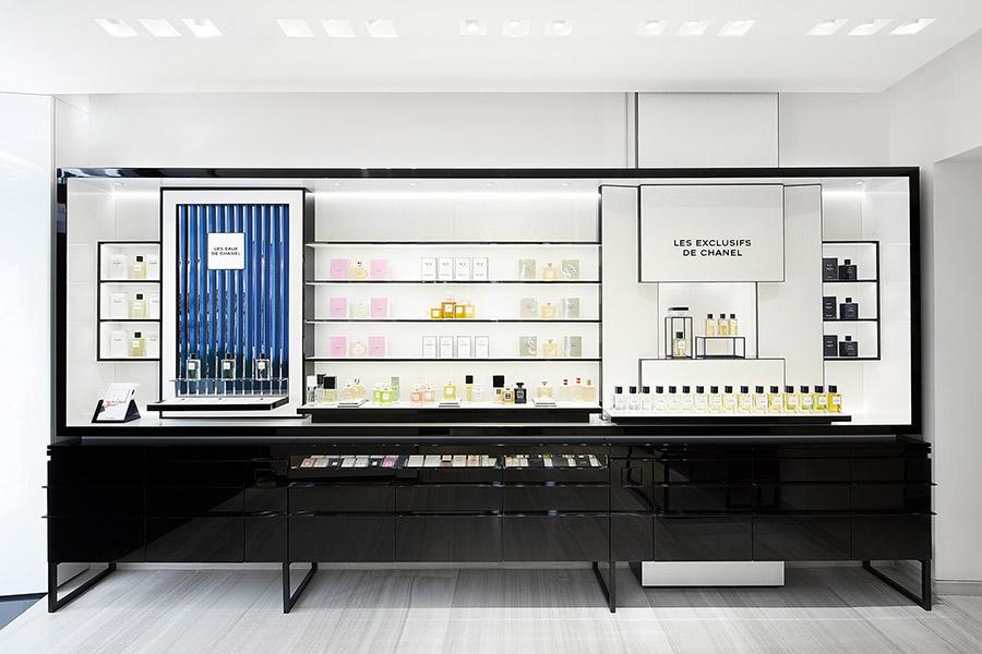 Chanel Store Rome Via Del Babuino Interior