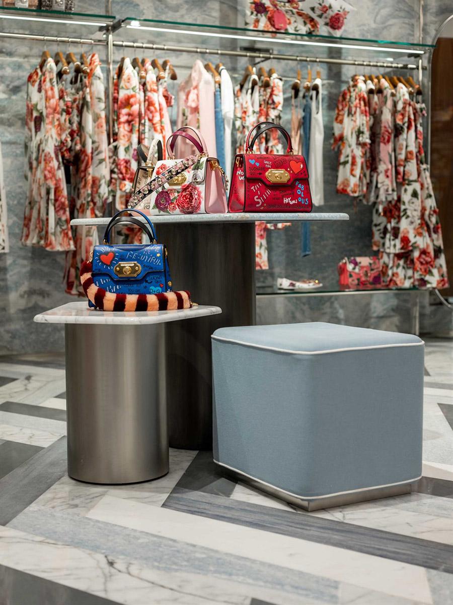 Dolce & Gabbana Forte Dei Marmi Store Interior