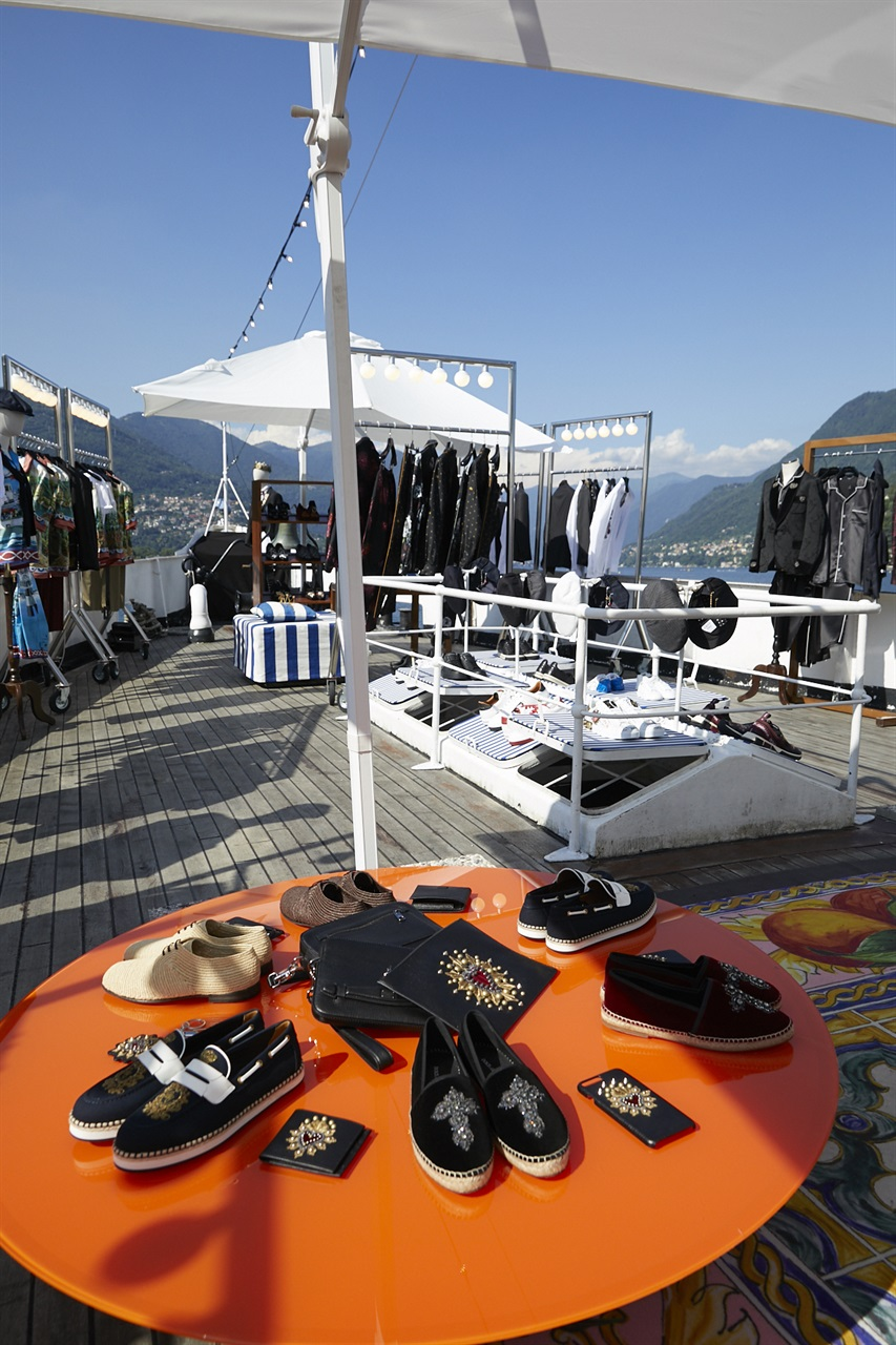 Dolce & Gabbana Lake Como Popup