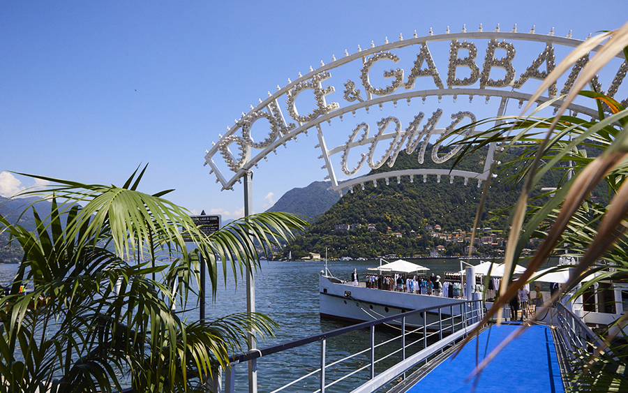 Dolce & Gabbana Lake Como Popup on the Patria
