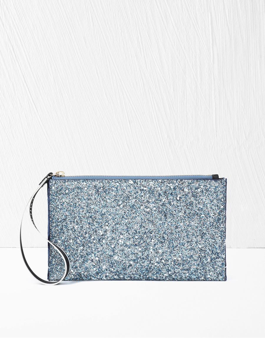 Emilio Pucci Glitter Pouch Bag
