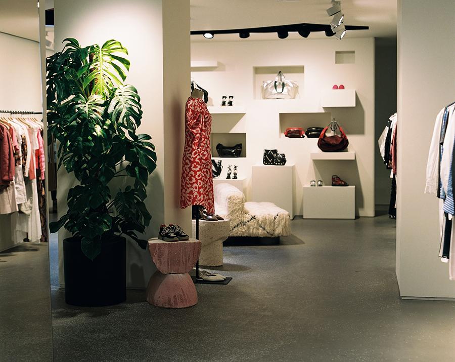 Isabel Marant Rue Saint-Honoré Store Interior