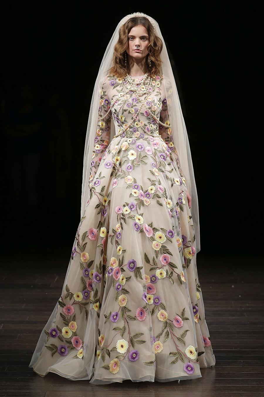 Naeem Khan Spring 2018 Bridal