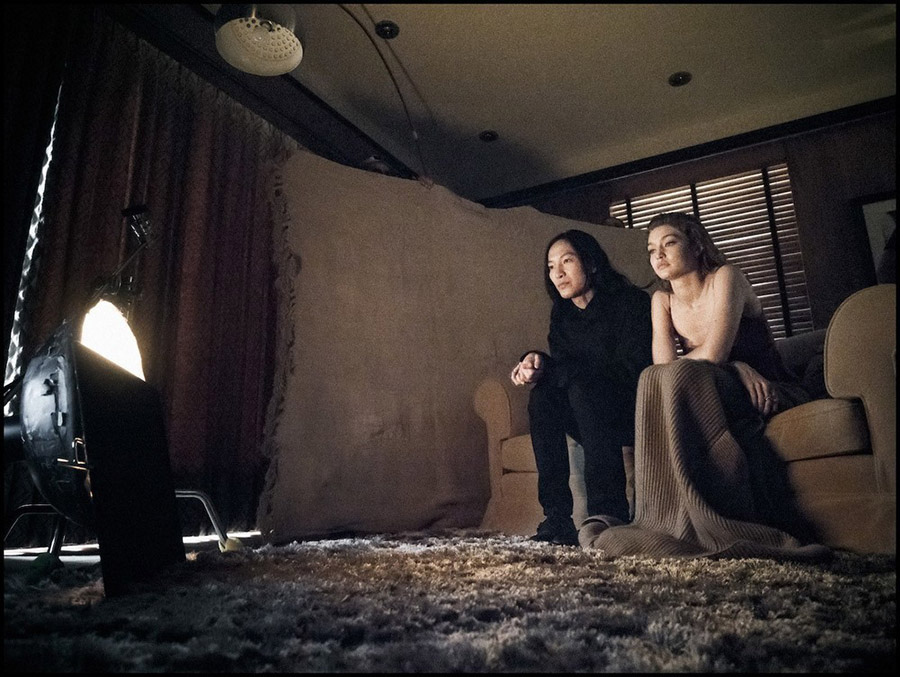 Pirelli Calendar 2019 Alexander Wang & Gigi Hadid