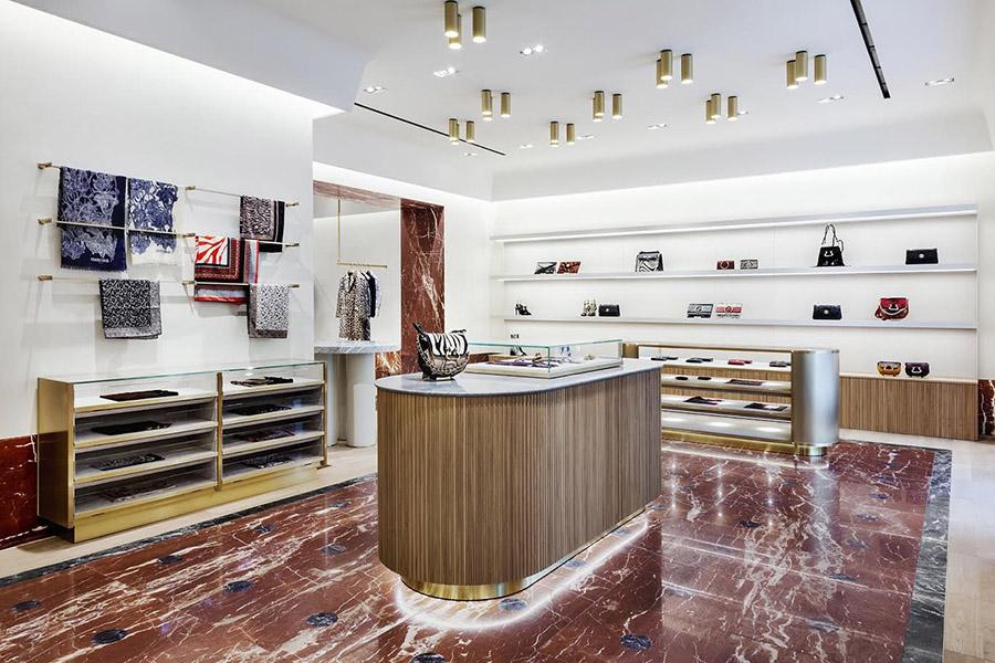 Roberto Cavalli Berlin Store Interior