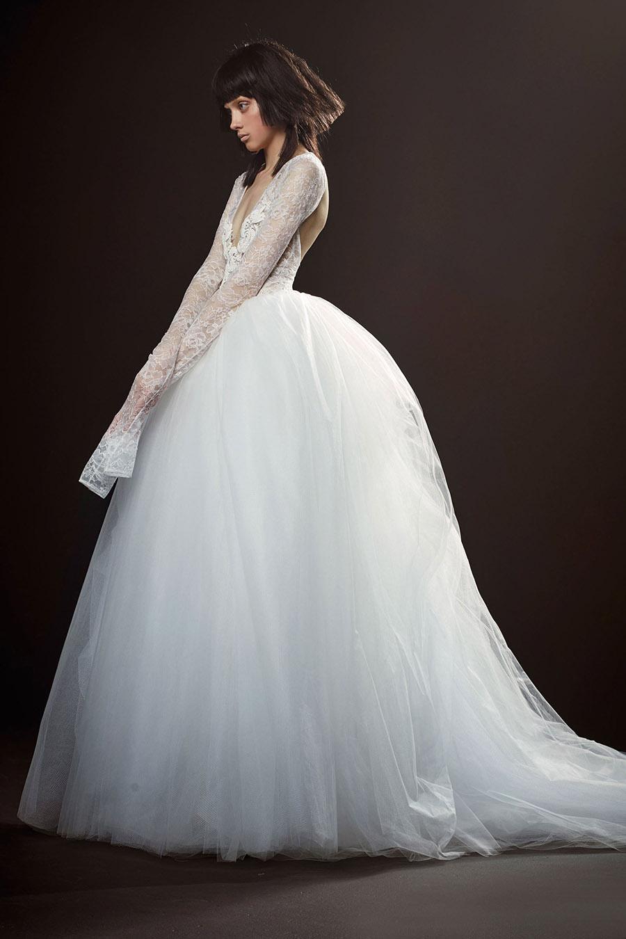 Vera Wang Spring 2018 Bridal