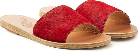Ancient Greek Sandals Taygete Pony Hair Sandals
