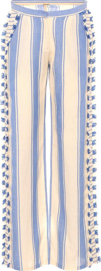 DODO BAR OR Embroidered cotton trousers