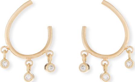 Zoe Chicco 14k Front-to-Back Diamond Hoop Earrings