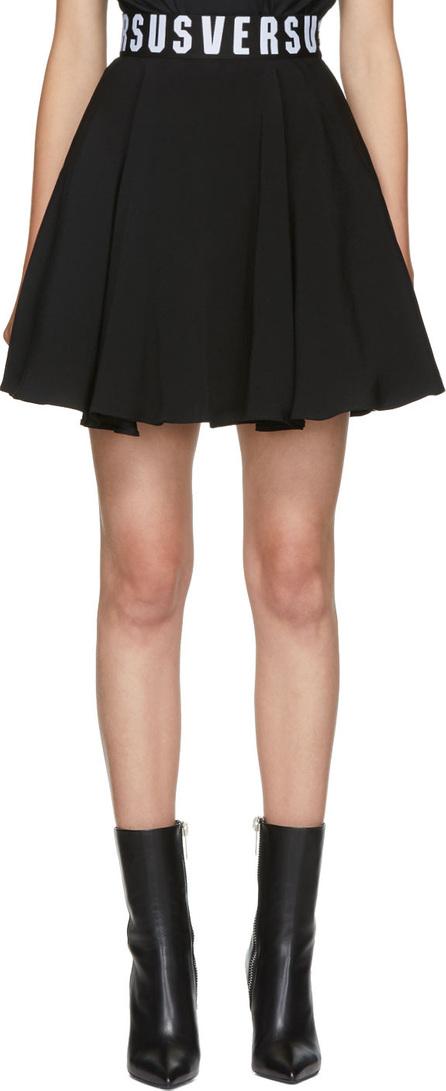 Versus Versace Black Puffy Miniskirt