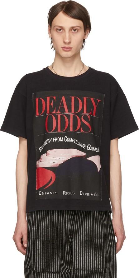 Enfants Riches Deprimes Black 'Deadly Odds' T-Shirt