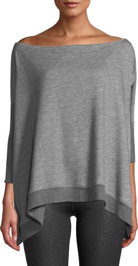Beyond Yoga Convertible 3/4-Sleeve Draped Sweater