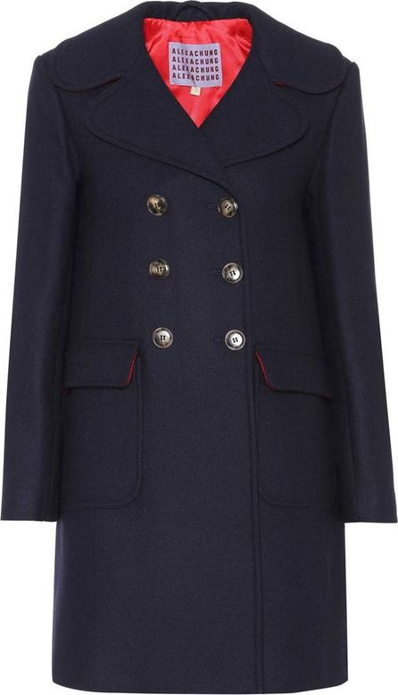 Alexachung Wool-blend double-breasted coat