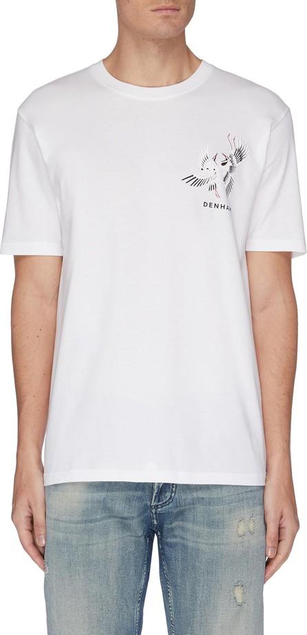 Denham 'Crane' graphic print T-shirt