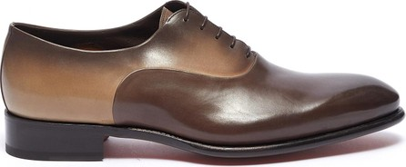 Santoni Colourblock leather Oxfords