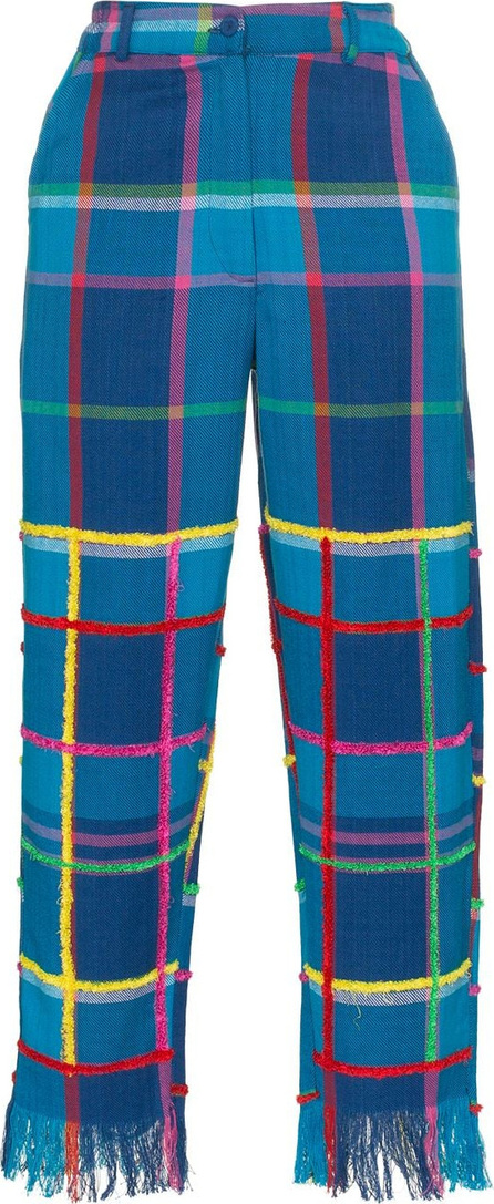 All Things Mochi Vivienne check trousers