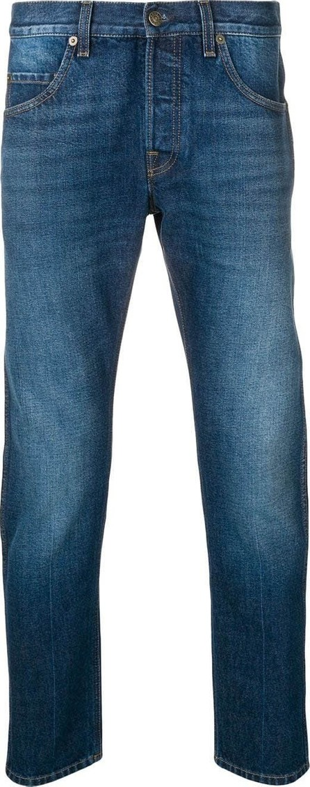 Gucci Slim fit tapered blue jeans