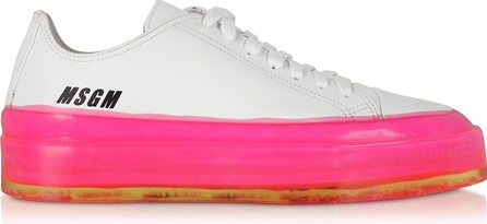 MSGM MSGM Fuchsia Floating Sneakers