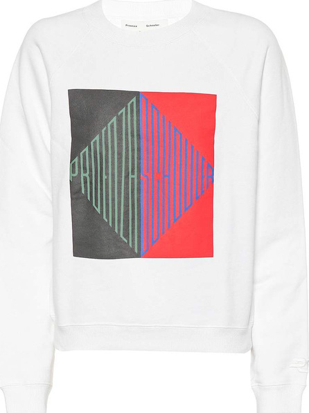 Proenza Schouler Printed cotton sweatshirt