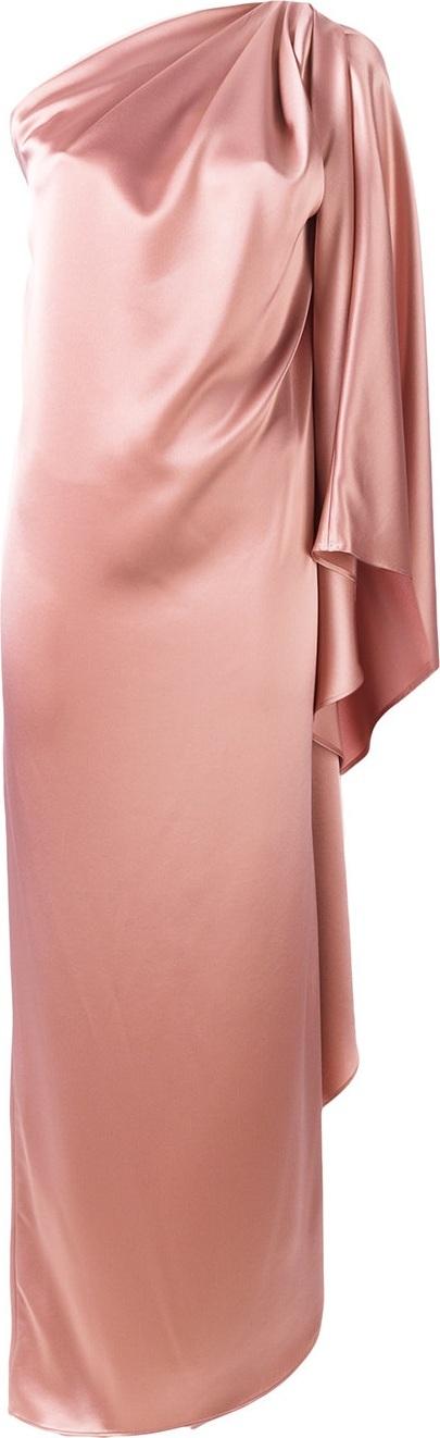 Gianluca Capannolo one shoulder drape dress