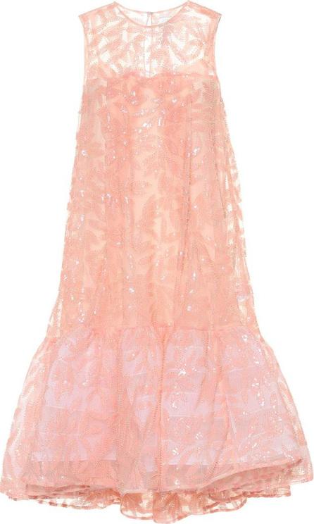 Huishan Zhang Jodie floral-embellished dress