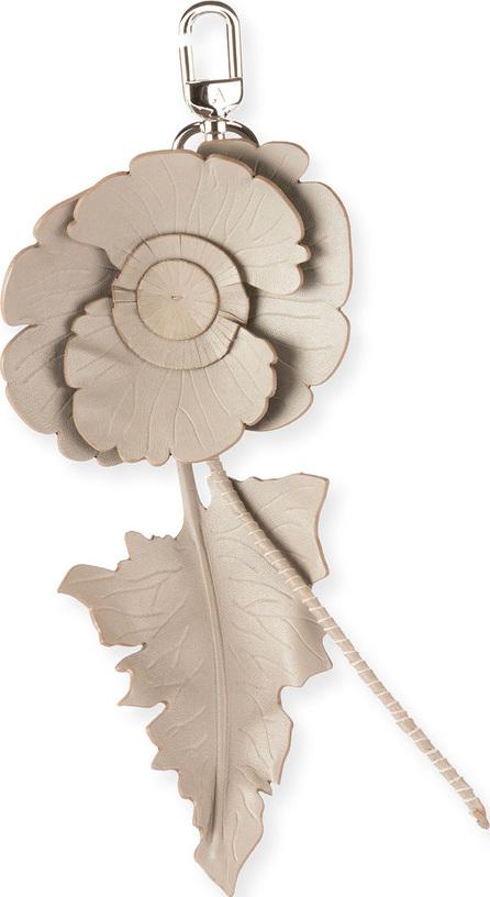 Altuzarra Leather Cutwork Flower Charm