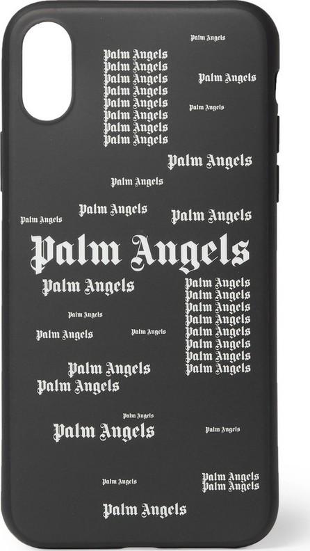 Palm Angels Logo-Print iPhone X Case