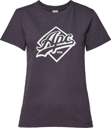 A.P.C. Althea Printed Cotton T-Shirt