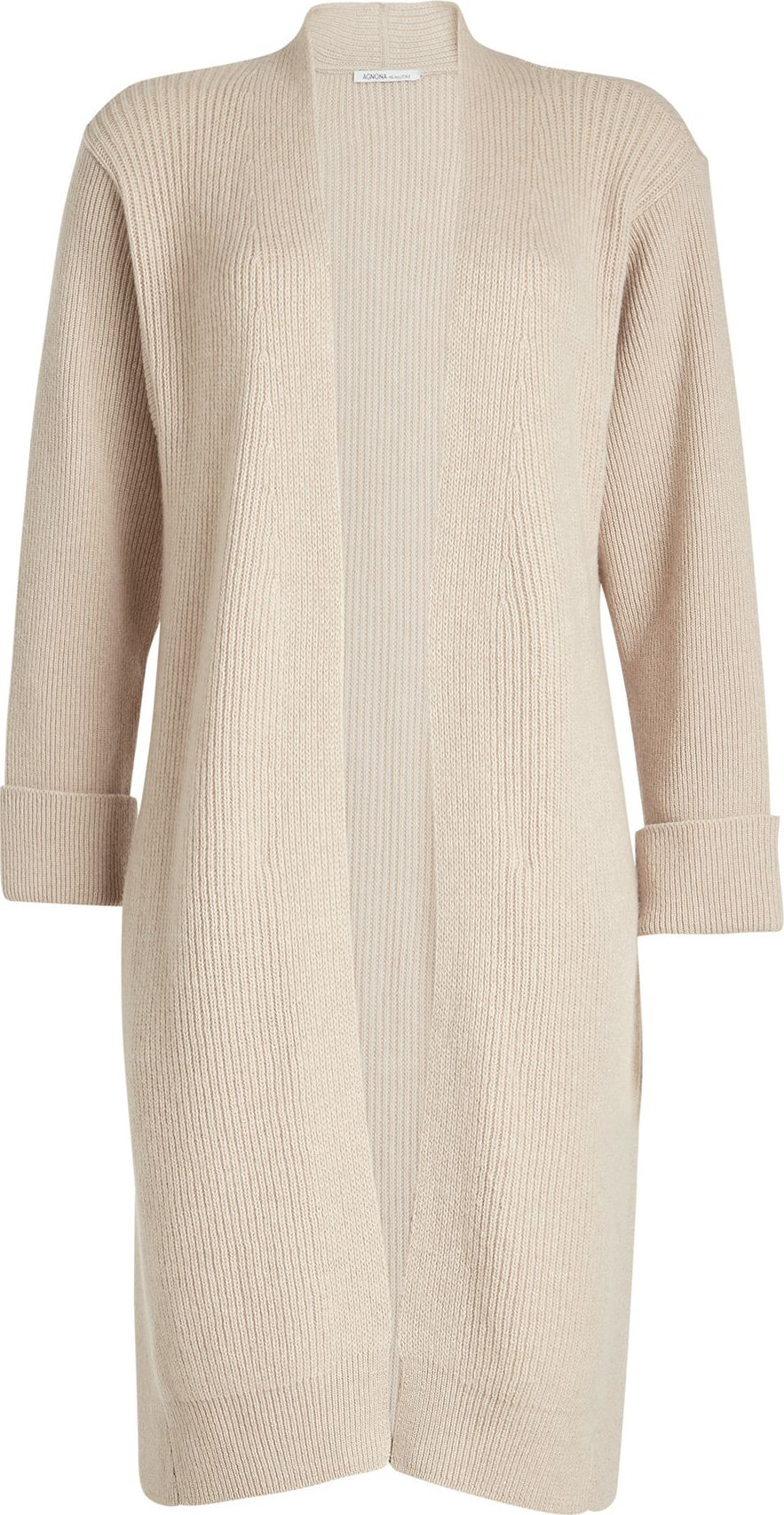 Agnona - Ribbed Cardigan with Wool and Cashmere