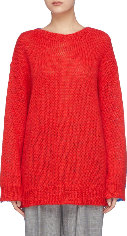 Calvin Klein 205W39NYC Colourblock alpaca-mohair sweater