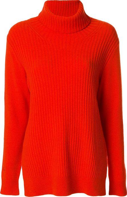 Ganni ribbed turtleneck sweater
