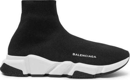 Balenciaga Speed Sock Stretch-Knit Slip-On Sneakers