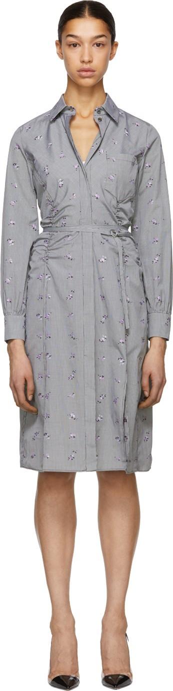 Altuzarra Black & White Strada Shirt Dress