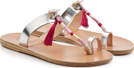Ancient Greek Sandals Iris Wrap Sandals with Leather