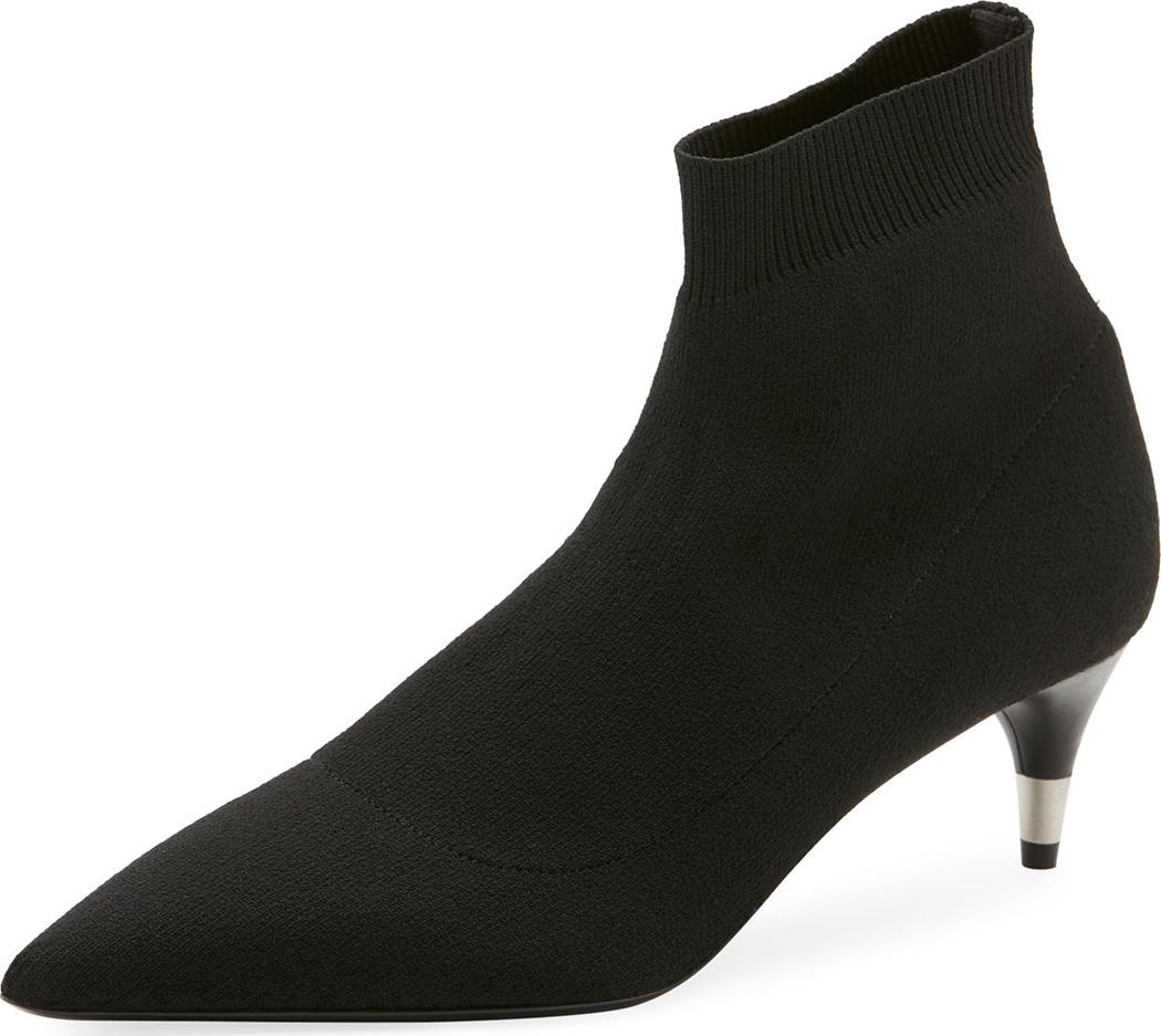 Prada - Stretch-Sock Knit Bootie