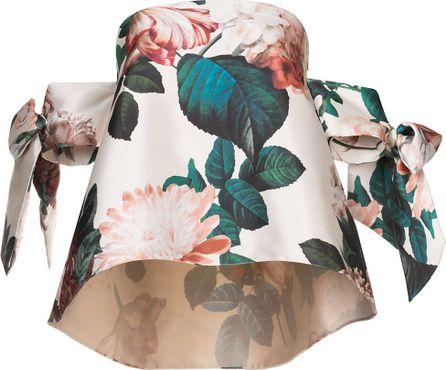 Sachin & Babi Benita floral-print off-the-shoulder top