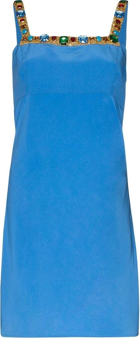 RIXO LONDON X Christian Lacroix Nicole jewelled mini dress
