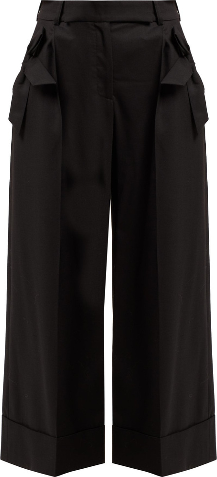 Simone Rocha Wide-leg wool-blend trousers