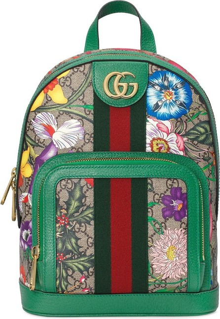 Gucci Ophidia GG Flora backpack