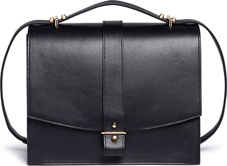 Haerfest 'Agnes' cowhide leather crossbody satchel