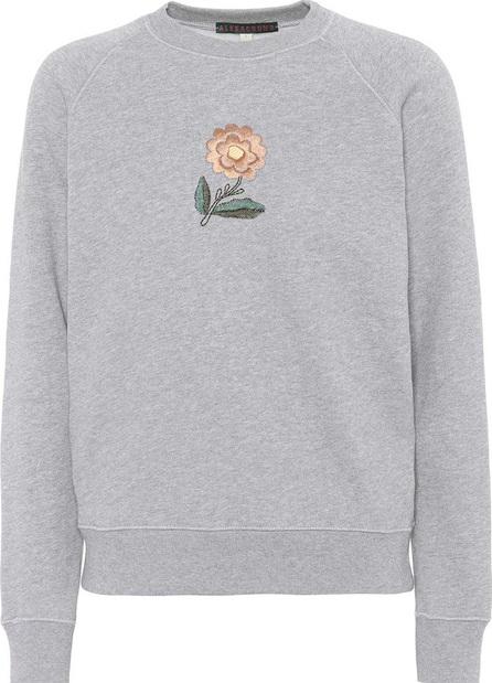 Alexachung Embroidered cotton sweatshirt