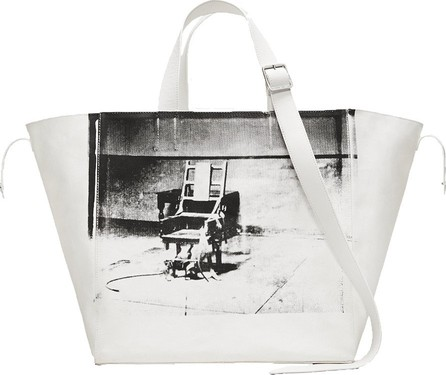 Calvin Klein 205W39NYC Calvin Klein x Andy Warhol Electric chair tote bag