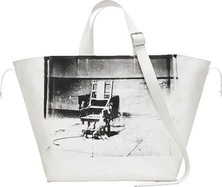 Calvin Klein 205W39NYC Calvin Klein x Andy Warhol Electric chair tote bag