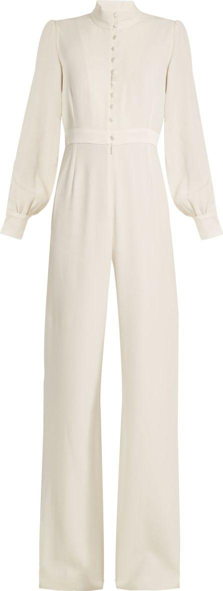 Goat Forte wide-leg crepe-cady jumpsuit